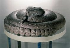 Coiled Rattlesnake Aztec, Late Postclassic 1200-1520 CE