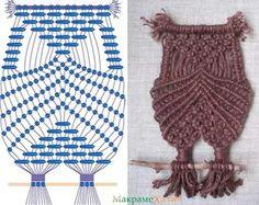плетение совы макраме схемы: 26 тис. зображень знайдено в Яндекс.Зображеннях