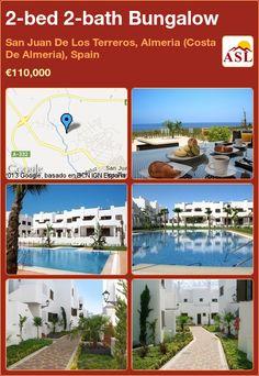 2-bed 2-bath Bungalow in San Juan De Los Terreros, Almeria (Costa De Almeria), Spain ►€110,000 #PropertyForSaleInSpain