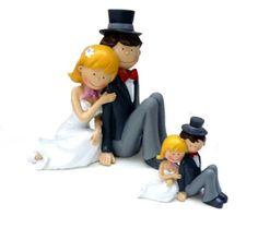 Tortenfigur und Deko Hochzeit