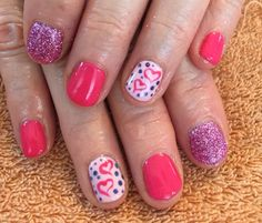 Nails by Mindy  816-914-8986 Liberty, MO Happy Valentines Day  #gel #shellac #nails
