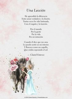 Image discovered by Clairel Estevez. Find images and videos about text, flores and frases on We Heart It - the app to get lost in what you love. Love Poems, Love Quotes, Short Spanish Quotes, Rain Poems, Lelo And Stitch, Friendship Poems, Love Phrases, Life Words, True Feelings