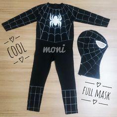 Spider Man in Black by monikids on Etsy