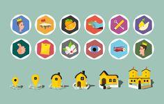 icons, ui, game, app, illustration