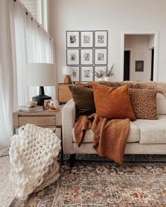 How To Style A Small Living Room - The Blush Home - A Home & Lifestyle Blog