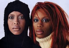 Sisters In Hiding: Not So Famous Sisters of Famous Celebs. Erykah Badu and her sister.