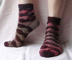 Ravelry: Clouds Sock pattern by Rebecca A.