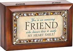 You're an Amazing Friend Jeweled Jewelry Music Musical Box Plays Tune Thats What Friends Are For Cottage Garden http://www.amazon.com/dp/B00U1Q9RLQ/ref=cm_sw_r_pi_dp_V4pDvb1MTW86S