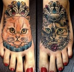 Si vous êtes fans de tatouages ET de chats, vous allez adorer cette sélection de photos. Certains voient peut-être les tatouages de chats comme quelque chose de plutôt kitsch… Pourtan...