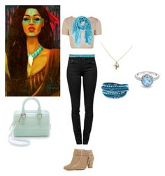 """""""Pocahontas in high school"""" by cyphertbethany on Polyvore"""