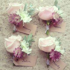 Astrantia and rose button holes Astrantia, Buttonholes, Corsage, Flower Arrangements, Wedding Flowers, Floral Design, Rose, Plants, Blog