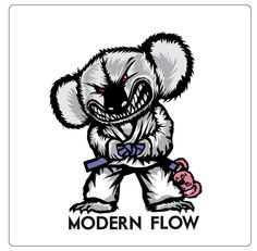 Modern Flow Brand | Koala Bear Patch
