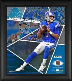 9f9f4783d Matthew Stafford Detroit Lions Framed 15