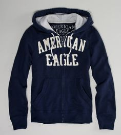 AE Applique Fleece Hoodie $19.99