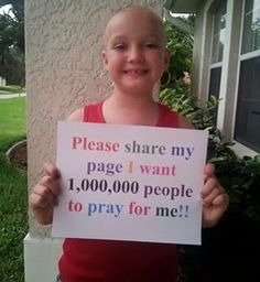 Sorry I know this isn't disney but I'd love for this little girl to live to meet her husband and go to prom and have a sweet sixteen! Please pray even if you don't know how just try!