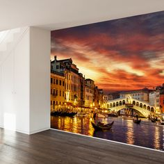 Oh Venice! My Venice! Wall Mural Decal