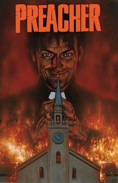 """A clássica série de quadrinhos """"Preacher"""" vai virar seriado; assista"""