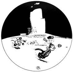 Ignatz and Krazy Kat, my favorite comic strip