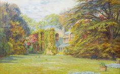 Farringford House 1905 - Watercolour by: HELEN MARY ELIZABETH ALLINGHAM