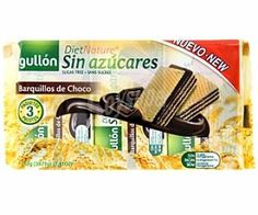 Barquillos de Choco sin azúcares Gullón (Carrefour) - 1 unidad 1 punto