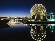 Vancouver Canada:   Science World