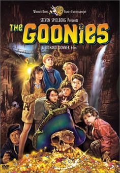Goonies! Finally watched it ON the Oregon Coast. Our hotel room at Cannon Beach was a great viewing room for this one!