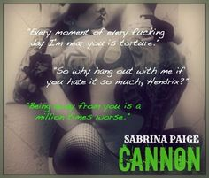 Cannon (A Step Brother Romance #3) by Sabrina Paige #MaidaLuv