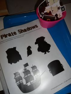 Ocean Odessey unit:  pirate printables