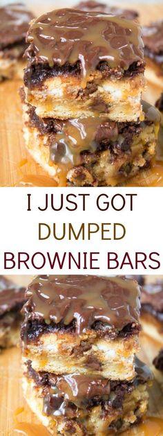 Just Got Dumped Brownie Bars