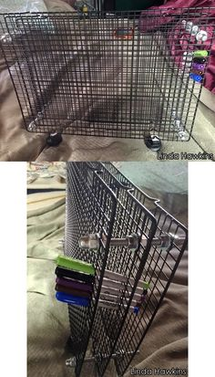 Pure genius! This reader explains how to build a simple DIY art supply stand that holds hundreds of pens and pencils -- with a few cooling racks!