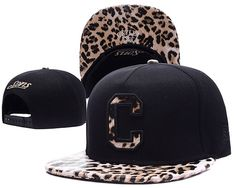 CAYLER&SONS snapbacks C Black/Leopard