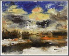 Albert Saverys (1886-1964), La Lys en Hiver - 1950's