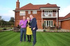 Brian Norton, Lara Newman, Mark Fitzpatrick at Fidlers Green, Shackleford
