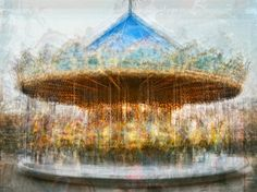 Pep Ventoso collapses time on itself with these multi-layered photos of carousels