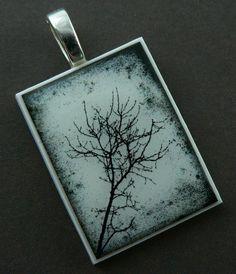Polymer Clay pendant - pretty cool
