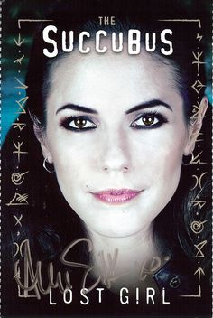 Bo (Showcase's Lost Girl) played by Anna Silk