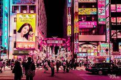 Neon Lights in Tokyo by Xavier Portela – Fubiz Media