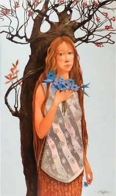 Merab Gagiladze  -  Waiting Princess Zelda, Disney Princess, Georgia, Disney Characters, Fictional Characters, Waiting, Culture, Artist, Illustrations