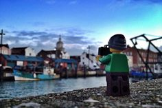 Everything About These Pictures Of A Tiny, Adventurous Lego Photographer is Awesome by Andrew Whyte
