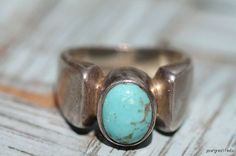 Vintage 925 Sterling Silver & Turquoise by Yourgreatfinds on Etsy