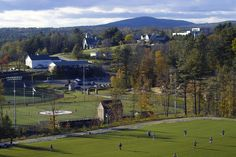 Rindge, NEW HAMPSHIRE  -home of FRANKLIN PIERCE UNIVERSITY.