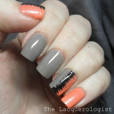The Lacquerologist: Sound Wave Nail Art!