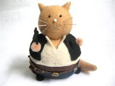 Fat Han Solo Kitty