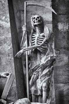 Grim Reaper IV #creepy #death #eerie #scary #skeleton #skull