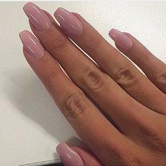 Love or hate? #mauve #nails