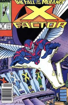 X-Factor, The Fall of the Mutants