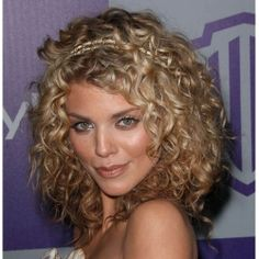 Dirty Blonde Curly Hai...