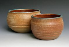 Set of Two Serving Bowls by LeeDanielsClayWorks on Etsy, $65.00