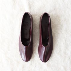 Martiniano Glove Shoe Burgundy