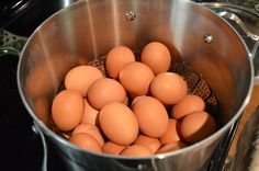 THE Best Way to Hard-Cook Eggs-Steam Them!